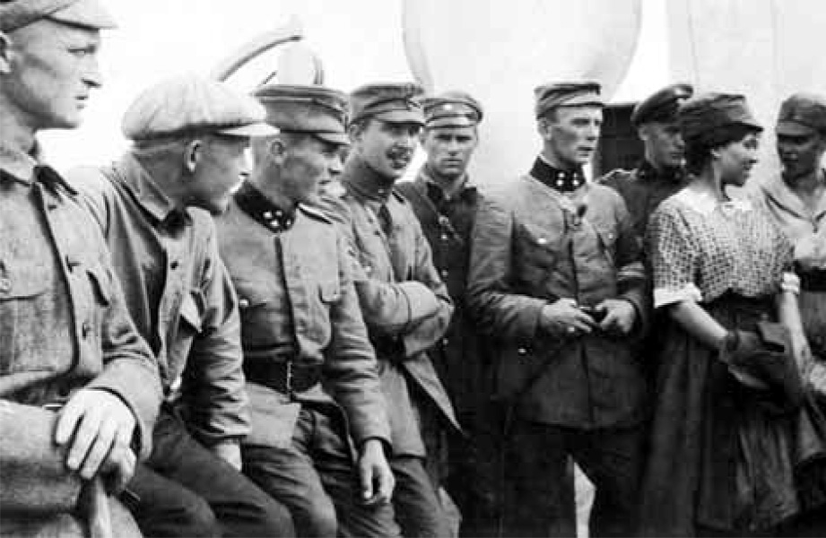 Volunteers within Viena 1921-22