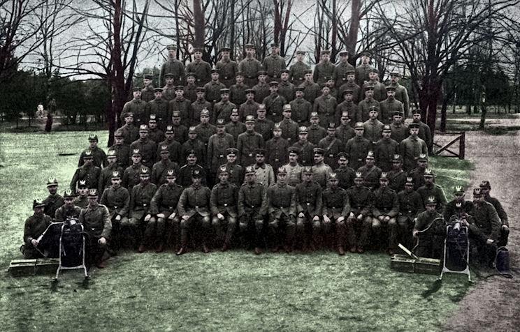 Jääkäripataljoona 27:n konekiväärikomppania (Machine Gun Company)