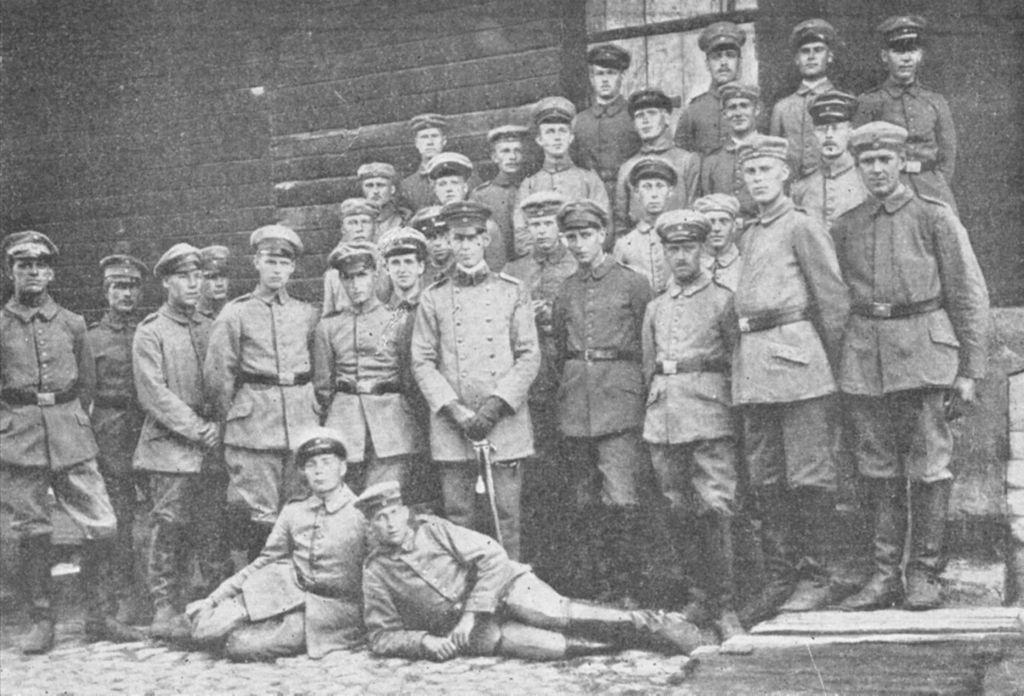 Jääkäripataljoona 27:n ratsuosasto (Cavalry detachment)