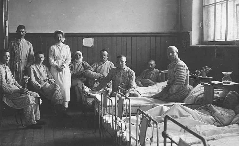 Nurses: Baroness Ruth Munck and Miss Sarah Rampan did valuable work caring for the wounded or sick Jaegers. They worked in the territory of Latvia of war and a field hospital that had cared for Finnish light infantry. Both returned to Finland with the main body of Jaegers and served during the Civil War.
