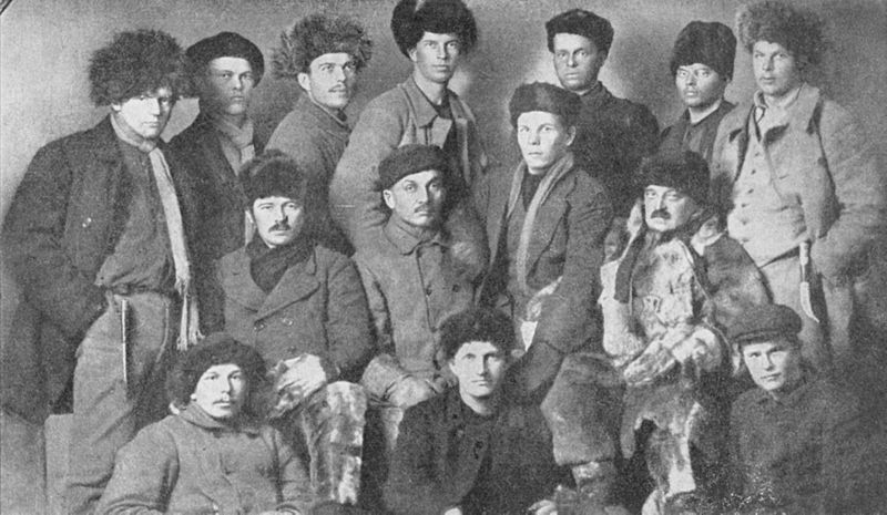 A group of Finnish Volunteers, many of whom would later become Senior Officers in the Suomen Maavoimat and play an important role in the Miracle of the Winter War