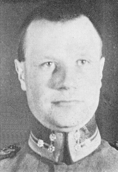 Jäger Major Leonard Grandell